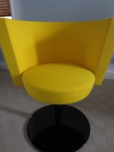 Yellow Tulip Writing Chair