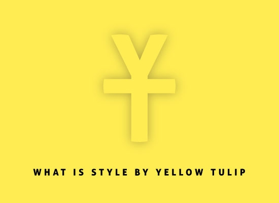 Yellow logo with what is style by yellowtulip