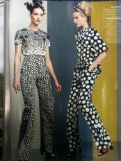 """American Vogue November 2012 """"Hot Spots"""""""