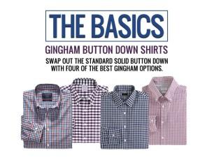 J.Crew Gingham Shirts