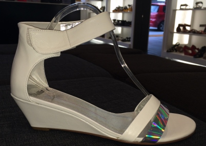 Summer White Sandal