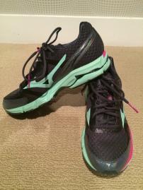 My Mizuno Running Shoes