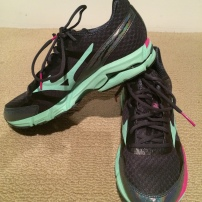 My Mizuno Running Shoes
