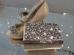 Karen Millen Shoes & Matching Clutch Purse