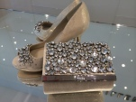 Karen Millen Shoes & Matching Clutch Purse