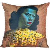 Chinese Girl Cushion