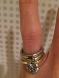 Tiffany Platinum Heart Ring