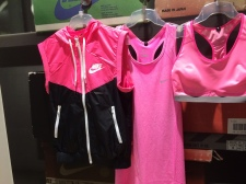 Nike Tank $80; Vest $90; Pro Bra $70