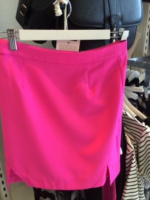 Pink Stitch Skirt from Flo & Frankie