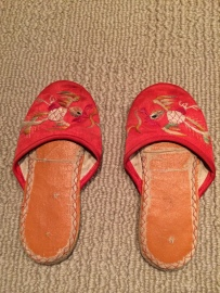 My Chinese Inspired Slippers