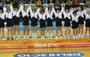 Silver Ferns Winning Gold in Delhi 2010