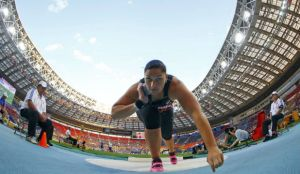 Valerie Adams (photo courtesy of Reuters)