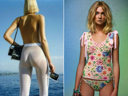 Helmut Newton for Wolford & Missoni for Wolford