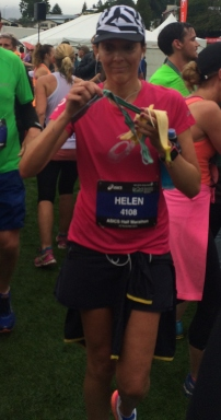 Completed Half Marathon in Queenstown