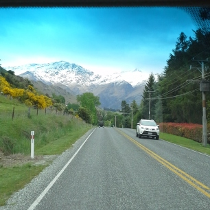 Driving to Arrowtown
