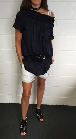 One Teaspoon Shorts & Karen Walker Dress