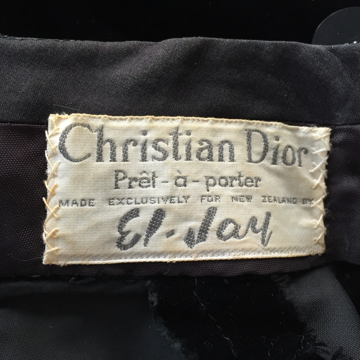 Christian Dior and my Little Black Dress