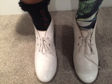 White Boots!