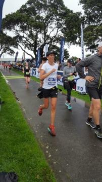 Devonport Half Marathon Finish LIne