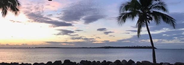 Sunset Fiji Style